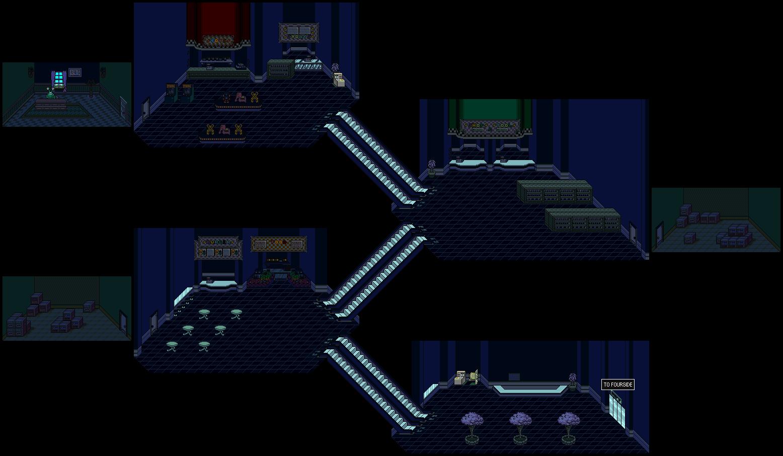 Starmen Net EarthBound Walkthrough: Game Maps