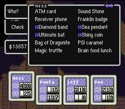 dragonquest earthbound style personal inventories rpg maker forums